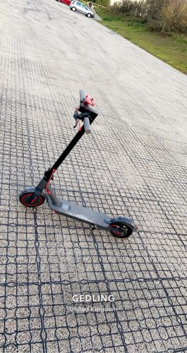 AOVO®M365 Pro Original Electric Scooter | 350W Power, 30km/h speed, 30km mileage | APP remote control secure lock, Ultra-light &  with charger photo review