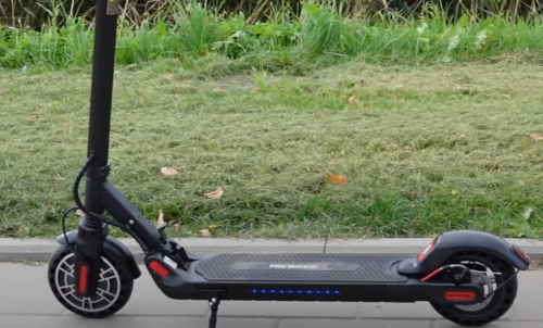 AOVO MICROGO V2 With Seat - 350W, 36V, 7.8Ah, Max speed 32km/h, Max mileage 30 km, Best electric scooter 2021 photo review