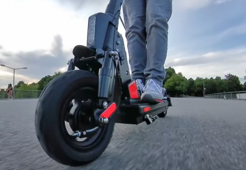BOGIST C1 pro electric scooter, 600W  great power, 48V 13Ah, 45km max mileage, 45km/h max speed, Newest folding style with seat photo review